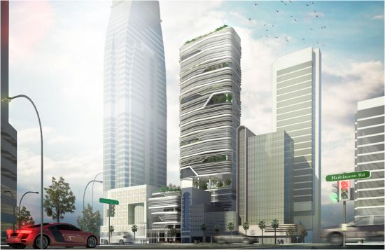 SBF Center Office & Medical Suites :: By Far East :: Developer for Woods Square Office Project
