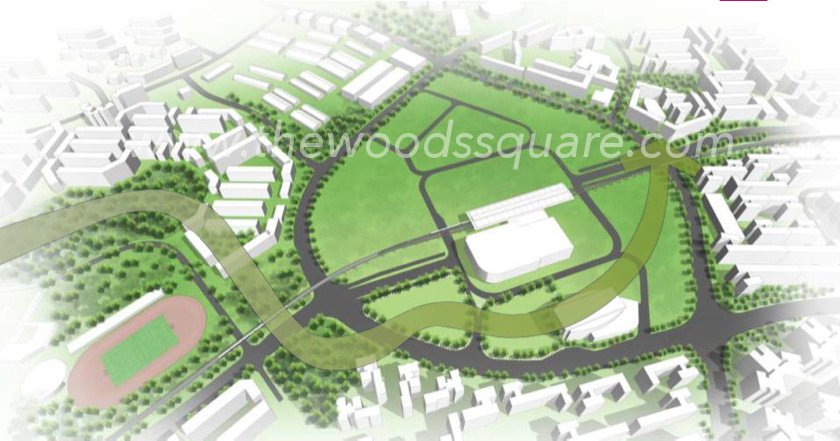 Woods Square Woodlands Site :: Green Network