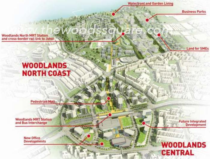 Woods Square Woodlands Regional Centre