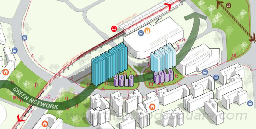 Woods Square Site Plan Design