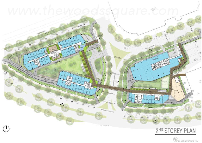 Woods Square Floor Plan | Site Plan Draft Layout